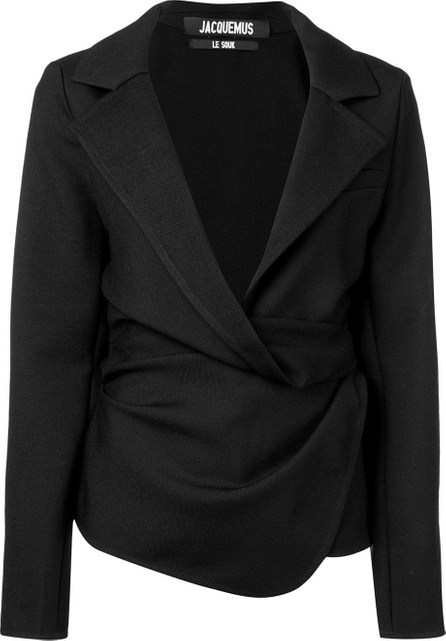 Jacquemus Draped fitted jacket