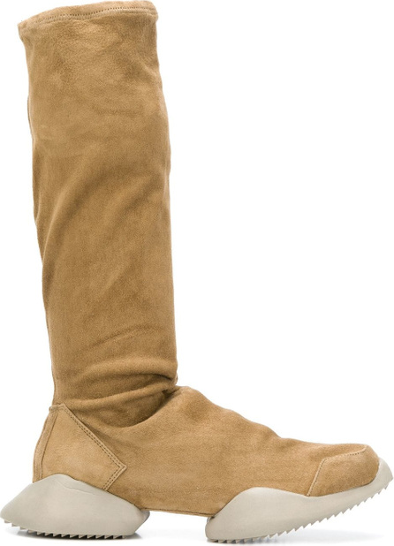 Adidas by Rick Owens Platform knee-length boots