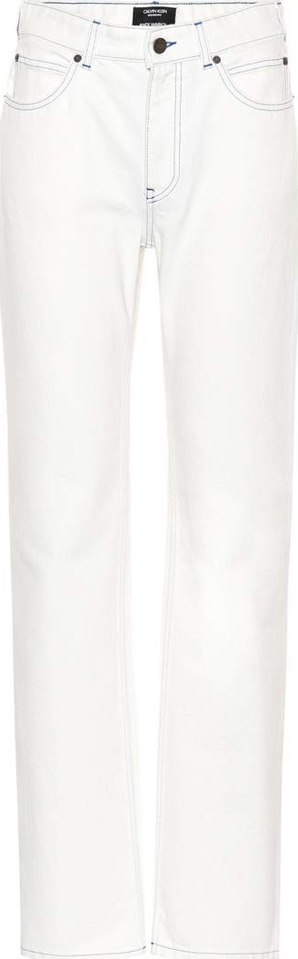 Calvin Klein 205W39NYC Sandra Brant cotton jeans