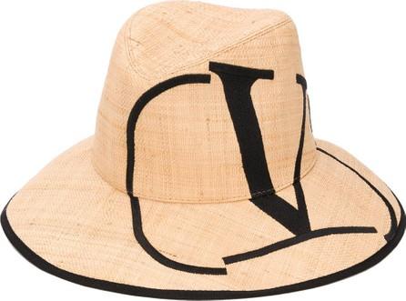 Valentino VLOGO embroidered hat
