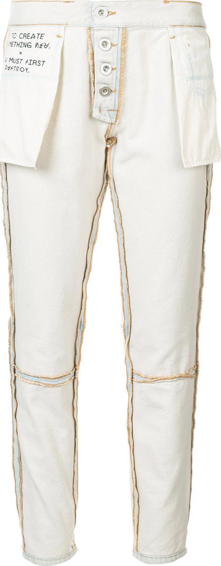 Ben Taverniti Unravel Project Reverse straight-leg jeans