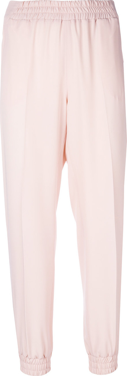 Blumarine Elasticated high waisted trousers