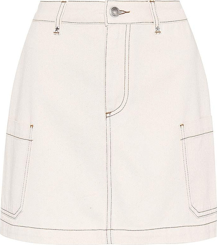 Alexachung Patch Pocket denim skirt