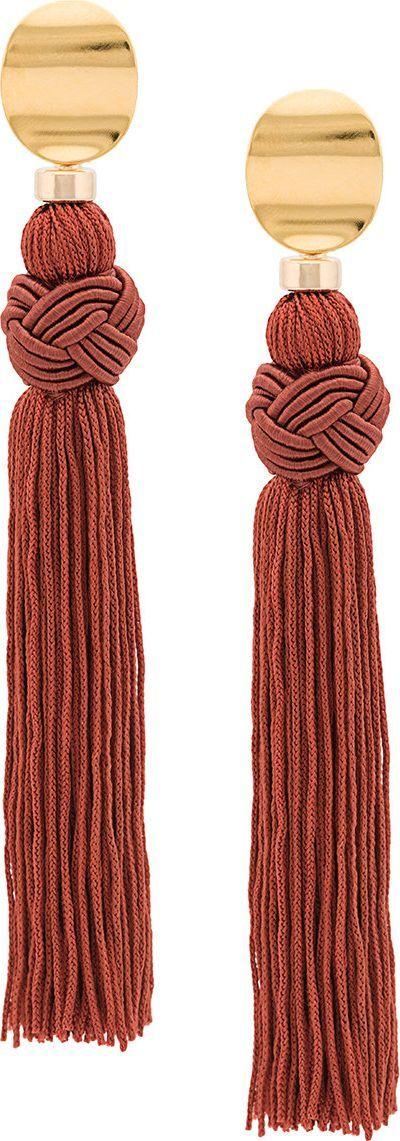 Lizzie Fortunato Sienna Luxe tassel earrings