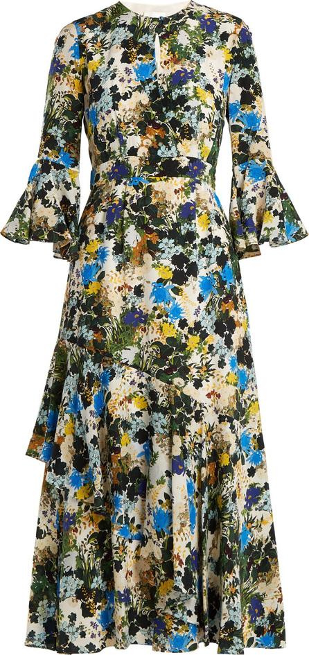 Erdem Florence Mariko-print silk dress