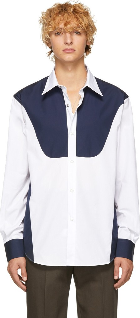 Cobra S.C. White & Navy Rodeo Shirt