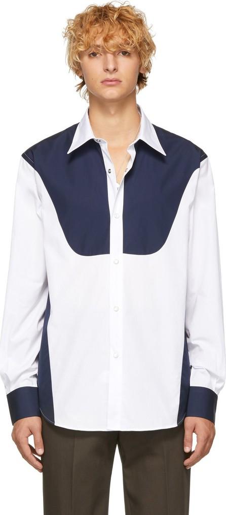 Cobra S.C. White & Navy Rodeo Shirt