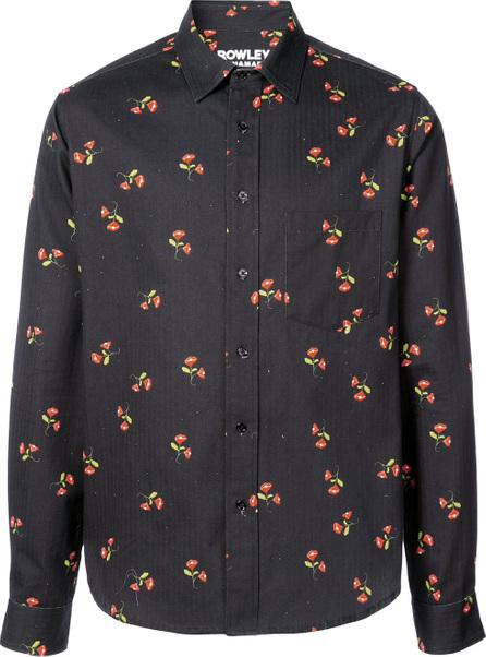 Cynthia Rowley Cynthia Rowley x Garrett McNamara Floral Galaxy shirt