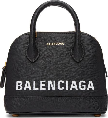 Balenciaga Black XXS Graffiti City Bag