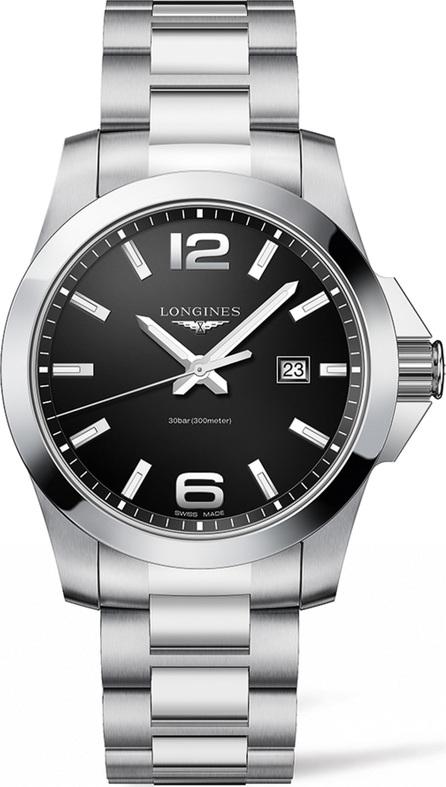 Longines Conquest Bracelet Watch, 43mm
