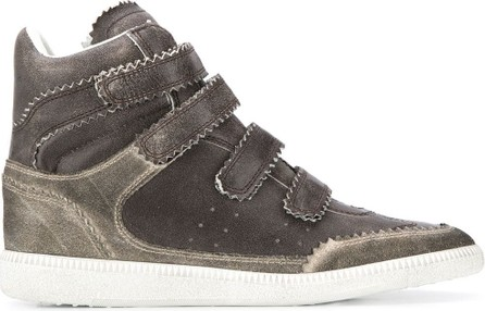 Isabel Marant Bilsy touch strap sneakers