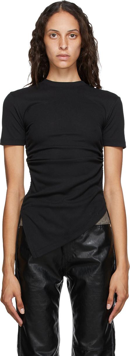 Andersson Bell Black Asymmetric Cindy T-Shirt