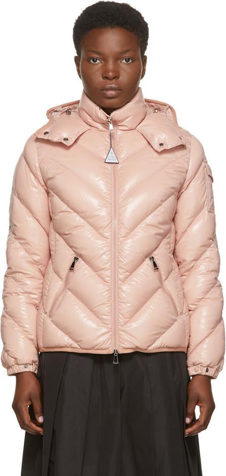 Moncler Pink Down Brouel Coat