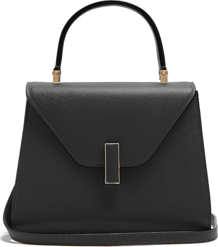 Valextra Iside small grained-leather bag