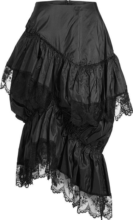 Simone Rocha Silk Skirt with Lace
