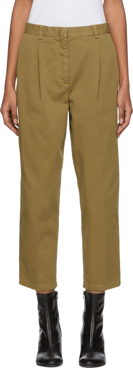 Acne Studios Brown Tabea Co Chino Trousers