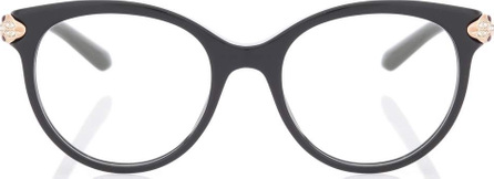 Bulgari Serpenti round glasses