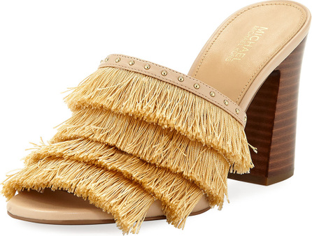 MICHAEL MICHAEL KORS Gallagher Fringe Slide Sandal