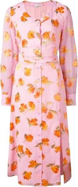 Altuzarra Livia Floral Midi Dress