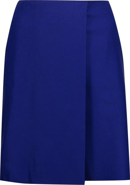 Acne Studios Pait wrap-effect wool-blend felt mini skirt