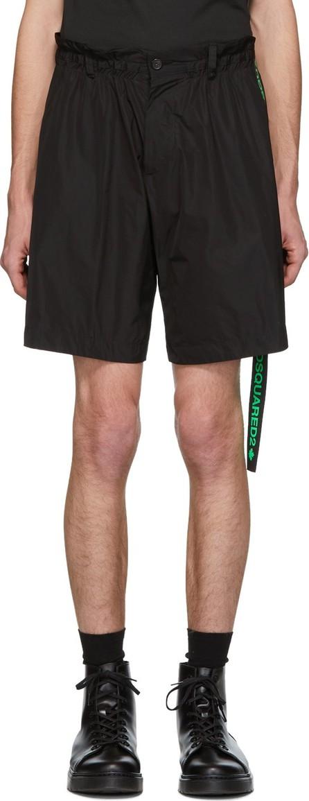 DSQUARED2 Black Dan Elastic Boxer Shorts