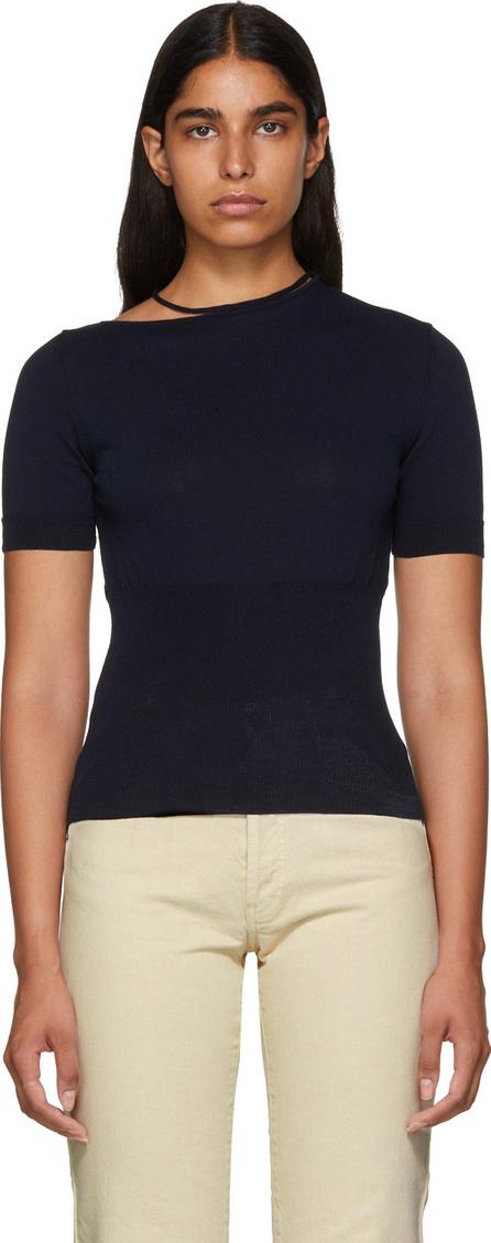 Jacquemus Navy 'La Maille Dana' Sweater
