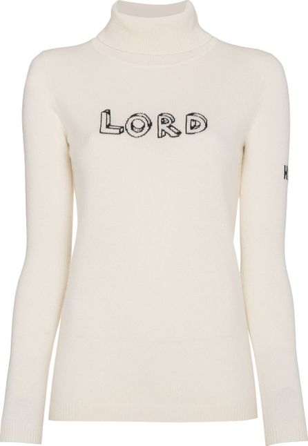 Bella Freud Cashmere Lord Long Sleeve Jumper