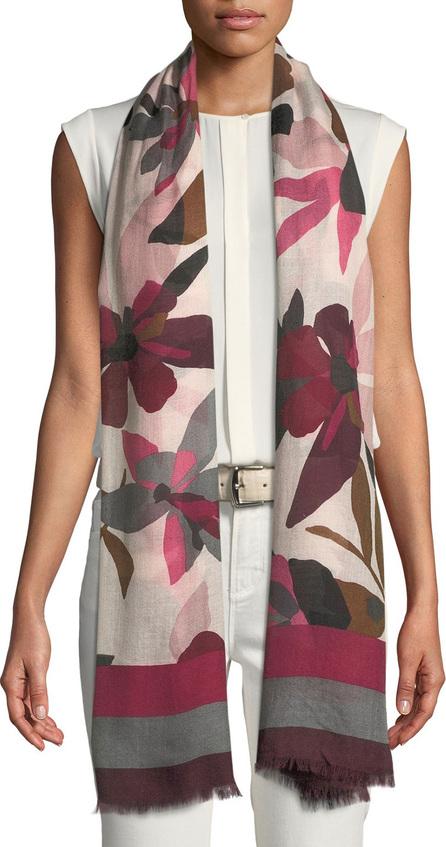 Loro Piana Passion Flower Cashmere-Blend Stole