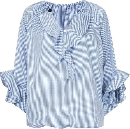 Eudon Choi Micro vichy blouse