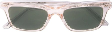 Oliver Peoples clear square frame sunglasses