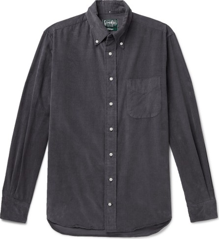Gitman Vintage Button-Down Collar Cotton-Corduroy Shirt