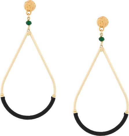 GAS Bijoux Azanzibar loop earrings