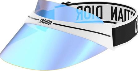 Dior DiorClub1 Mirrored Logo Sun Visor