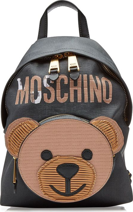 Moschino Backpack with Leather