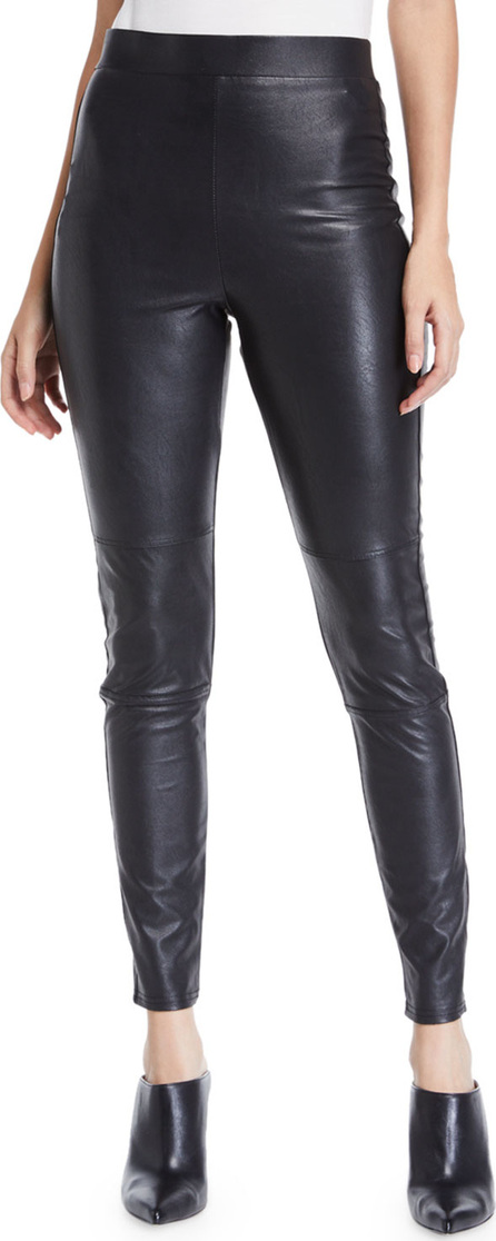 Splendid Faux-Leather Pull-On Leggings