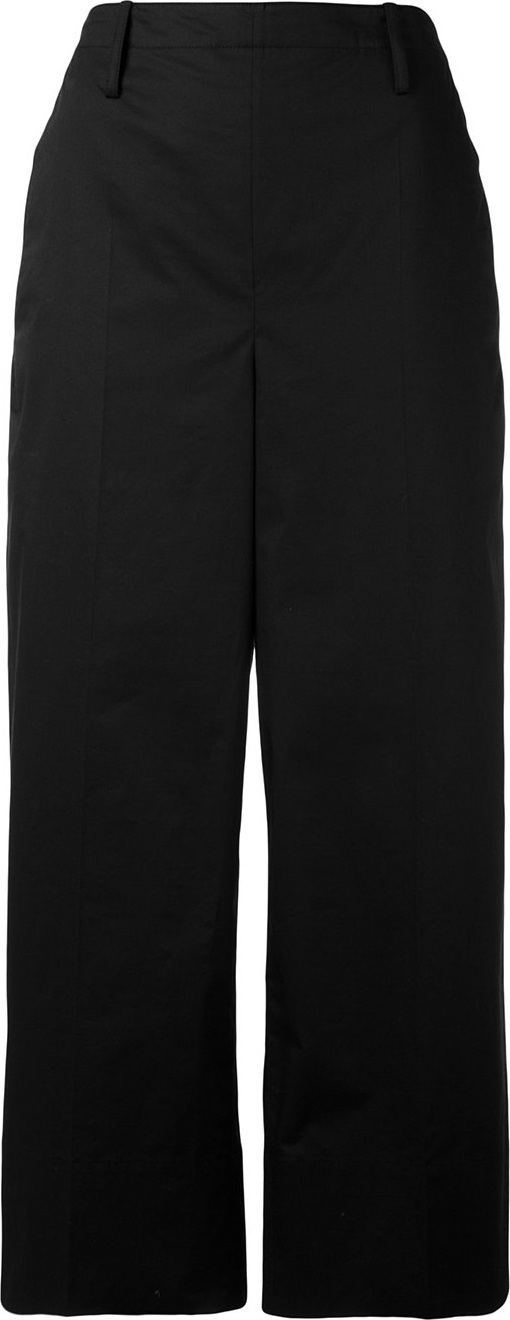 Lemaire - cropped wide leg trousers