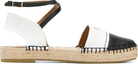 Emporio Armani Ankle-wrap espadrilles