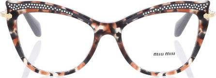 Miu Miu Embellished cat-eye glasses