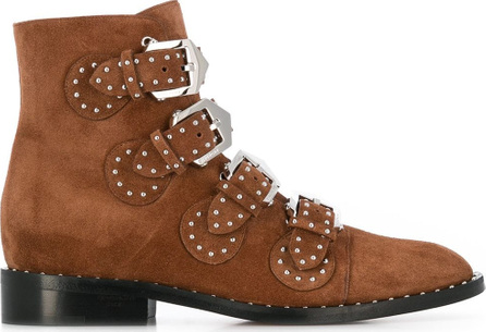 Givenchy Buckle ankle boots