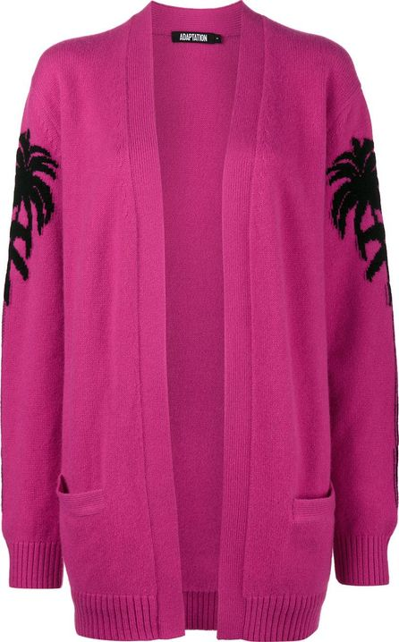 Adaptation embroidered cashmere cardigan