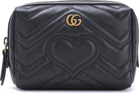 Gucci GG Marmont matelassé leather pouch