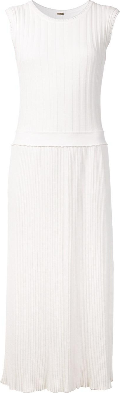 Adam Lippes sleeveless fitted waist dress