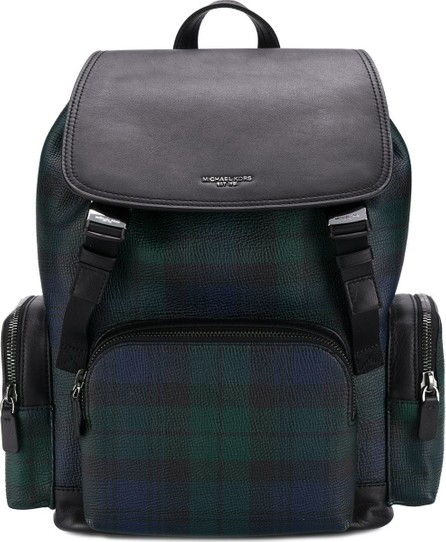 Michael Kors Collection Tartan print backpack