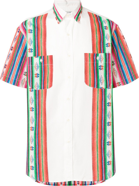 Gitman Vintage Chile embroidered panel shirt