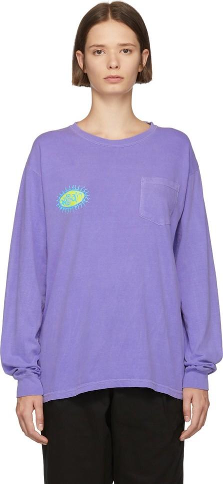 Noah NYC Purple Pretty Logo T-Shirt