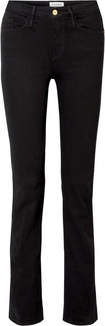 FRAME DENIM Le Mini Boot mid-rise jeans