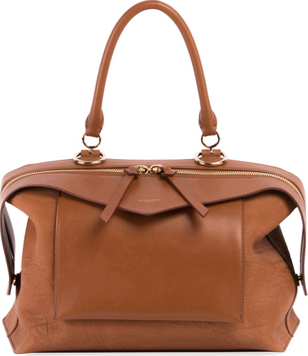 Givenchy Sway Small Leather Top-Handle Bag