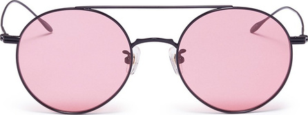 Stephane + Christian 'Lille' metal round aviator sunglasses
