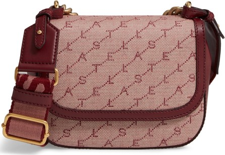 Stella McCartney Monogram Canvas Chain Crossbody Bag