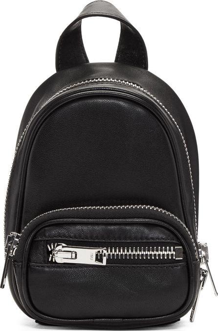 Alexander Wang Black Mini Attica Crossbody Backpack